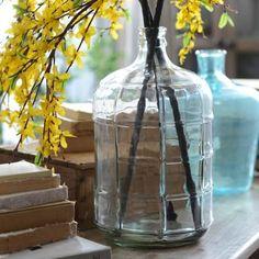 Clear Windowpane Vase | Kirklands