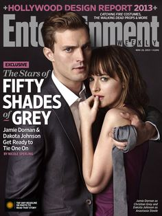 Jamie Dornan & Dakota Johnson - Fifty Shades of Gray: Entertainment Weekly November, 2013.