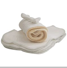 California Baby 100% Organic Brushed Cotton Wash Cloth - Pack of 12