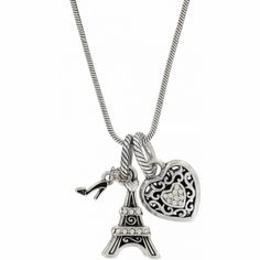 Paris Love Necklace available Tapestry Bag, Paris Love, Brighton Jewelry, Love Necklace, Heart Earrings, Betsey Johnson, Bling, Charmed, Jewels