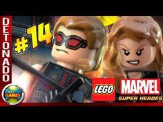 LEGO Marvel Super Heroes Parte #14 Detenção Ruiva Walkthrough