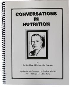 Learn about food as the foundation of health from the twentieth century's greatest nutritionist, Dr. Royal Lee. This collection of informal talks by Lee is filled with practical discussions on everything from vegetarian diets to hydrogenated oils to hot flashes.