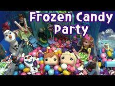 Disney Frozen 겨울왕국 Toys Candy Party 장난감 캔디파티  #사탕 #초콜렛 #겨울왕국 #장난감  #candy #frozen #disneyfrozen #chocolate #toy #figure
