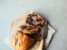 Marbled Chocolate Banana Bread (Vegan)