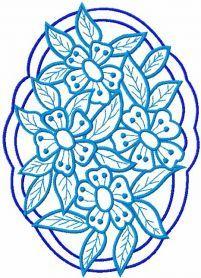 Lace napkin free embroidery design. Machine embroidery design…