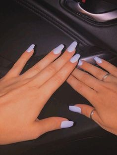 In search for some nail designs and some ideas for your nails? Listed here is our listing of must-try coffin acrylic nails for fashionable women. Acrylic Nails Coffin Short, Simple Acrylic Nails, Best Acrylic Nails, Acrylic Nail Designs, Simple Nails, Acrylic Nails Pastel, Coffin Acrylics, Squoval Acrylic Nails, Coffin Nails Designs Summer