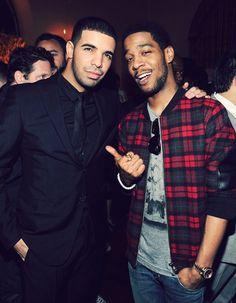 Drake and Kidd Cudi