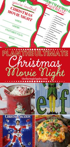 Plan An Ultimate Christmas Movie Night {With Free Printables) : Tis the season to Plan An Ultimate Christmas Movie Night! Put your comfy pajamas on, pop some popcorn and put on one of these 30 Christmas movies everyone should see. Christmas Vacation Movie, Christmas Movie Night, Family Christmas Movies, Family Movie Night, Holiday Movie, Christmas Fun, Christmas Concert, Christmas Planning, Christmas Things