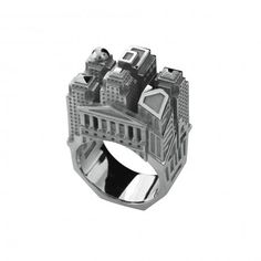 Philip Tournaire New York Architecture ring