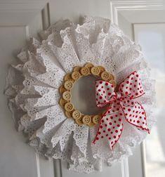 Simply Creative: Beautiful DIY Christmas Wreath