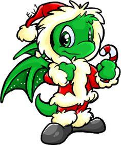 Christmas Shoyru by eevee1 on DeviantArt