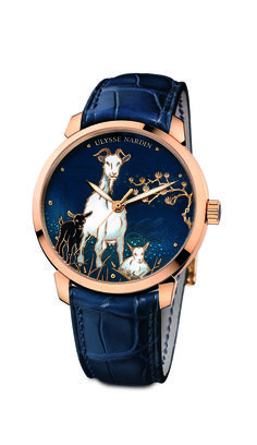 536db6fdb1d The stunning Classico Goat from Ulysse Nardin  ulyssenardin  timepieces   luxury  watches