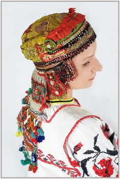 Брянский костюм -головной убор из коллекции С.Глебушкина