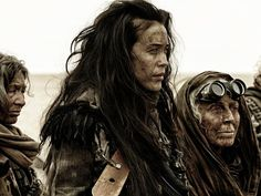 Megan Gale's mad moments as desert warrior in Max Mad: Fury Road