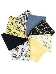 Fabric - Give a Hoot Yellow Fat Quarters - 8/pkg. - #274127