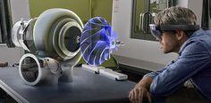 Arbeiten per Augmented Reality soll in Zukunft auch für mehrere Personen gleichzeitig möglich sein.