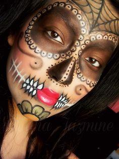 Another Dia De Los Muertos makeup look