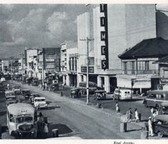 Rizal Avenue, Manila, 1949 Philippines Culture, Manila Philippines, Philippine Holidays, Filipiniana, Historical Landmarks, The Old Days, Vintage Pictures, Past, Street View