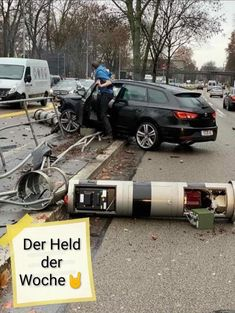 the hero of the week . - the hero of the week …… Informations About der Held der Woche…… Pin You can easily use my pr - Funny Pix, Funny Cute, The Funny, Funny Pictures, Bmw Autos, Audi, Facebook Humor, Chuck Norris, Car Humor