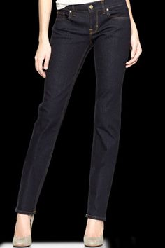 Recommended by Oprah Mag: from Gap.com, These petite straight leg jeans have a 30-inch inseam and come in sizes 00 to 14. If they're still a bit long, no need to worry—they'll look great cuffed.    Gap, $70; Gap.com      Read more: http://www.oprah.com/style/Best-Jeans-for-Body-Type-Most-Flattering-Jeans_1/7#ixzz25ciyVlwF