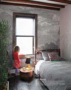 Trompe l 39 oeil murals wallpapers on pinterest for Anthropologie etched arcadia mural