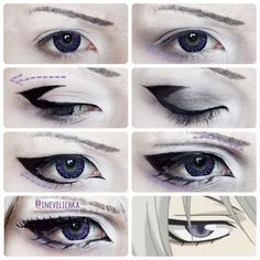 Tomoe Makeup Tutorial Lenses from Requested by I am… - COSPLAY IS BAEEE! Tap the pin now to grab yourself some BAE Cosplay leggings and shirts! From super hero fitness leggings, super hero fitness shirts, and so much more that wil make you say YASSS! Anime Eye Makeup, Anime Cosplay Makeup, Mac Makeup, Makeup Art, Makeup Eyes, Beauty Makeup, Makeup Tools, Anime Make-up, Anime Eyes