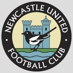 Newcastle United Football Club - England (Old logo) Soccer Logo, Football Team Logos, Sports Team Logos, Football Design, College Football, Soccer Teams, Football Football, English Football Teams, British Football