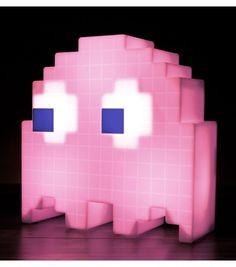 Lampe d'ambiance multicolore Pac Man