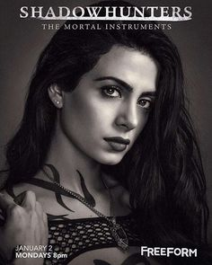 Shadowhunters Season Two Izzy poster is here!! ❤ #themortalinstruments #shadowhunters