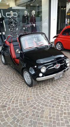 Fiat Cinquecento, Fiat Abarth, Fiat 500 Cabrio, Microcar, Fiat Cars, Weird Cars, Vespa, Sweet Cars, Cute Cars