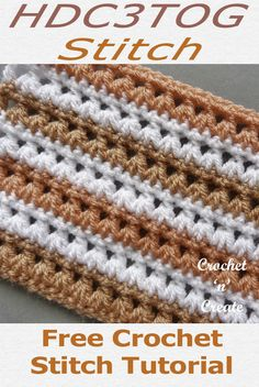 Crochet Stitch Tutorial Free Crochet Instructions Crochet Stitch Tutorial Free Crochet Instructions,Häkeln Free crochet stitch tutorial for design, lovely stitch pattern which is ideal for blankets, scarves baby crochet etc. Crochet Stitches For Blankets, Tunisian Crochet Stitches, Crochet Stitches Patterns, Stitch Patterns, Crochet Bobble Blanket Pattern, Crochet Patterns For Scarves, Crochet Gratis, Crochet Baby, Free Crochet