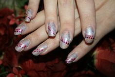 Thulian In Wonderland: Holographic polish and dotting tool spots