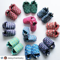 #Repost @daisychainbaby with @repostapp. ・・・ We're talking shoes (or slippers if you prefer). This gorgeous collection from Poco Nido is all available online - we've got shoes with flamingos, badgers, crocodiles or rainbow sausage dogs. We've got shoes with superheros, people, mosaics or cityscapes. We've got shoes with unicorns AND with the three billy goats. All currently £15.30 posted, use code ROYAL at checkout. (Sizes 3-6m to 18-24m)