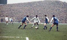 Pele (Santos) at Hillsborough 1972 versus Sheffield Wednesday (via… Retro Football, Vintage Football, Football Soccer, Football Memorabilia, Football Stadiums, Football Players, Sheffield Wednesday Fc, Image Foot, Saints
