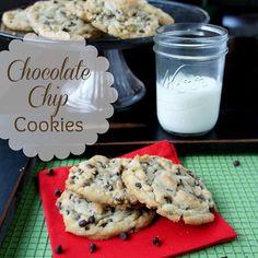 Chocolate Chip Cookie Recipe Using Crisco Baking Sticks