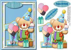 Little Teds 1st Birthday  on Craftsuprint - Add To Basket!