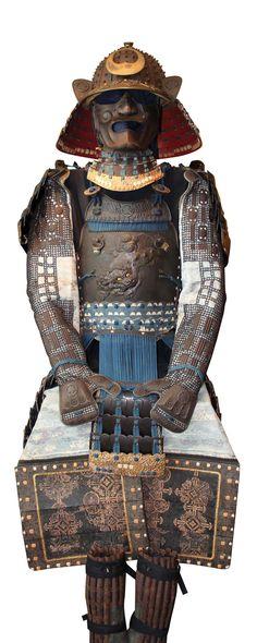 Armure samouraï.  | Collection Richard Béliveau. Photo : © Alain Lefort