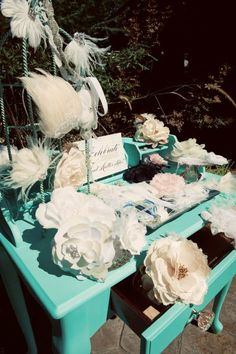 ever ours. - an all things romantically wedding blog-: {bridal shower} a classy modern tea party
