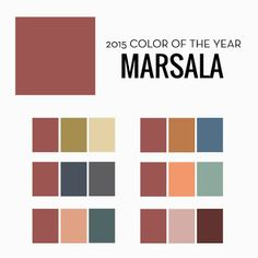 Pantone's 2015 Color of the Year: Marsala | Designs In Paper