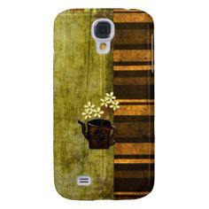 Brown Grunge Samsung Galaxy S4 Case. #zazzle #samsunggalaxy #samsunggalaxyS4case