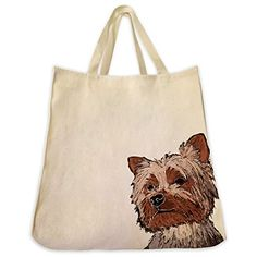 These premium pet tote bags are made from 100% 10 oz. cotton twill. They truly are the best unique gift idea for the pet lover in your life. These large size 100% cotton tote bags are handmade from the highest quality 10 oz. cotton twill and feature your favorite breed of dog, cat horse or other... more details available at https://perfect-gifts.bestselleroutlets.com/gifts-for-pets/for-dogs/product-review-for-yorkie-tote-bags-over-200-different-breed-and-animal-designs-to-cho