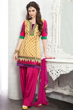 How to sew a salwar kameez or punjabi suit?
