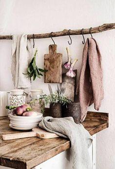 pretty kitchen in farmhouse style #farmhousestyleinteriordesign
