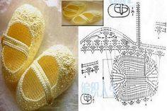 crochet baby bootties and sandals, crochet pattern and photo tutorials | make handmade, crochet, craft: