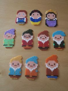 Snow White perler beads