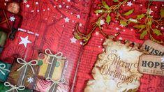 Art Journal: Merry Christmas - Clips-n-Cuts