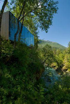 Dit 'landscape hotel' heeft het allermooiste uitzicht OOIT - Roomed