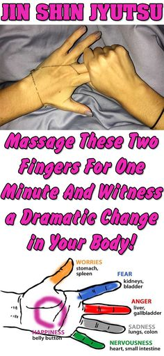 Tips of fingers massage