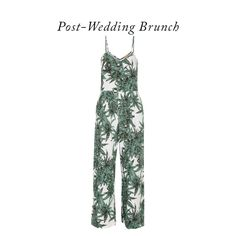 Harvest Print Voile Jumpsuit, Mara Hoffman $265-6 Outfits You Need When Getting Married | The Zoe Report
