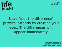 Hahaha I actually do this! Never seen anyone else suggest it before.
